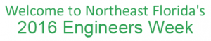 NE Florida Engineers' Week logo